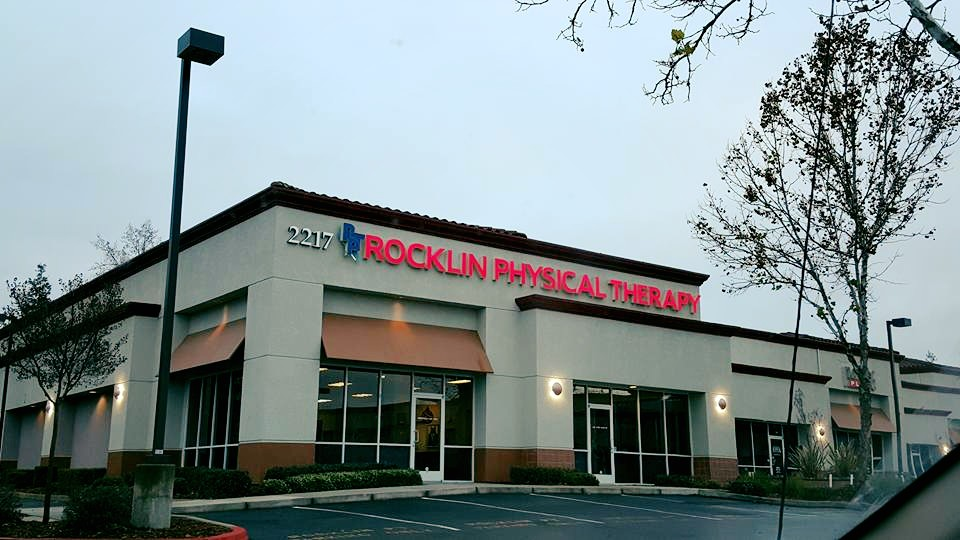 Rocklin Physical Therapy Front Doors